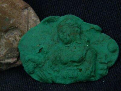 Ancient Teracotta Seal Roman C.200 BC #TR686 3