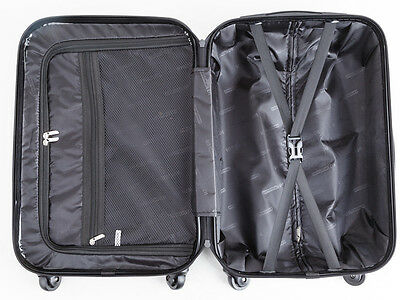 20 Inch (40L ) Suitcases Luggage Trolley Travel Bag Cabin Carry on hard case 12