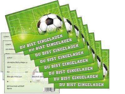 11 Einladungskarten Zum Kindergeburtstag Fussball
