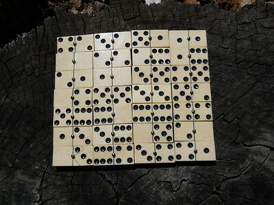 Old Rare Vintage Antique Civil War Relic Domino Game Piece Extremely Rare