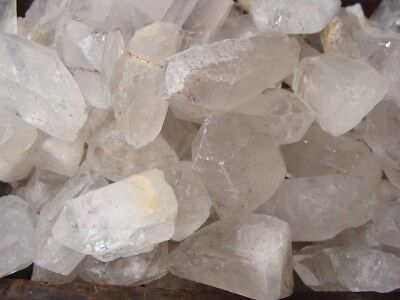 500 Carat Lots of Unsearched Quartz Crystal Points + a FREE faceted gemstone 4