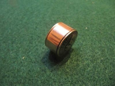UNIQUE HANDCRAFTED U.S WHEAT PENNY COPPER SNUFF BOX// PILL BOX