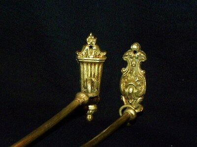 Antique Large Set of  French Tie backs Gilt Bronze Louis XVI Style 19Th. C 11