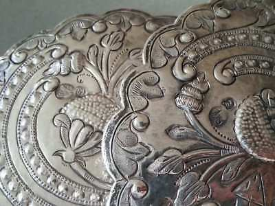 150 Years Old ANTIQUE OTTOMAN SILVER belt buckle WITH SULTAN ABDUL AZIZ TUGRA 6