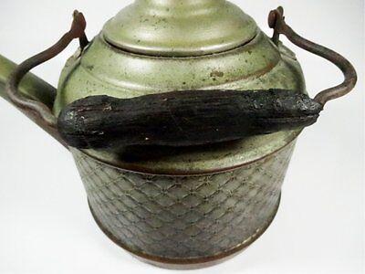 Cobre Antiguo Tetera (Platinated Acabado, Madera Mango) 4
