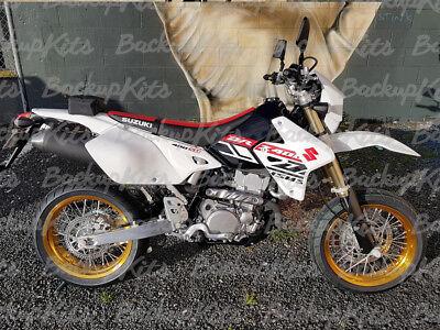 SUZUKI DRZ400S DRZ400SM DRZ400E 2000 2001 2018 MAXCROSS GRAPHIC FULL DECAL10 KIT