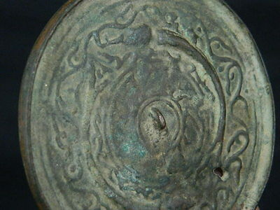 Ancient Bronze Mirror Roman 200 BC  No Reserve      #BR2002 7
