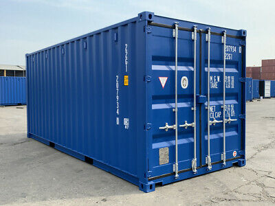 20' New Shipping Container / 20ft One Trip Shipping Container in Miami, FL 2
