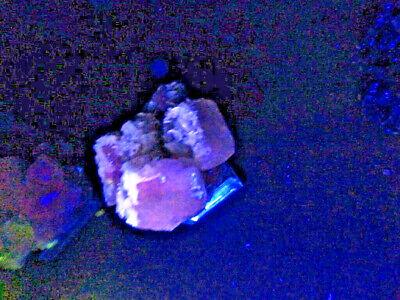 """Minerales """" Fantasticos Cristales De Calcita+Barita De Mina Moscona  -  8B17 """" 6"""