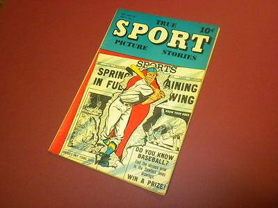 TRUE SPORT PICTURE STORIES Volume 4 #1 Street & Smith 1947