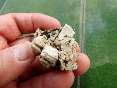 """Minerales """" Perfectos Cristales De Albita+Qz0+Magnetita De Imilchil  -  12B17 """" 2"""