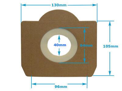 10-30 Staubsaugerbeutel 20 L geeignet für Einhell Duo 1100 1400 HPS 1300 INOX