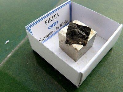 "Minerales "" Fantastica Pirita Maclada Mina La Grona Navajun(La Rioja) -  1G16 "" 3"