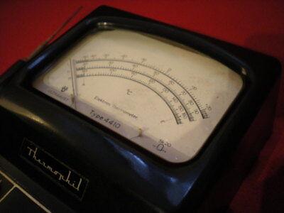 Ultrakust Thermometer Type 4410 Thermophil Antiguo termometro vintage baquelita 7