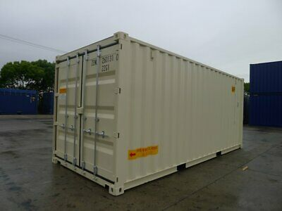 Double Door(DD) - 20' High Cube - One Trip Shipping Container in Kansas City, KS 3