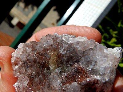 """Minerales """" Excelnte Drusa De Amatista De Akka (Marruecos)  -  7A16 """" 5"""