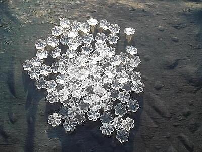 100 unusual 14mm glass snowflake chandelier drops/Christmas decoration (D84712) 7