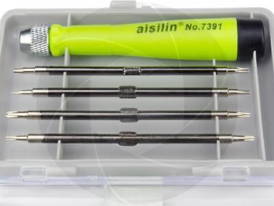 8 Tips Pentalobe 0.8mm 1.2mm T2 T4 T5 T6 Tablet Repair Tool Screw Screwdrivers