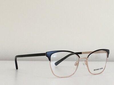 64f17d0b44ae5 ... 23 Michael Kors MK 3012 1113 Adrianna IV Cat Eye Black Gold  Eyeglasses51 17