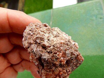 "Minerales "" Fabulosos Cristales De Quarzo Jacintos De Compostela  -  12B16 "" 6"