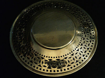 "Beautiful Vintage Wallace Sterling Silver Pierced 9.5""  Plate 3"