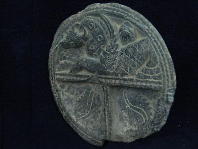 Ancient Stone Cosmatic Tray Gandhara/Gandharan 100 AD #STN834 5