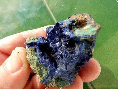 """Minerales"""" Extraordinarios Cristales De Azurita Kerrouchen(Marruecos)- 4A17 """" 3"""