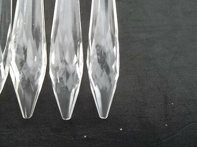 10 lovely glass icicle chandelier drops(D277) 5