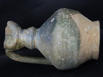Ancient Large size Glazed Ewer Islamic 1200 AD   No Reserve #PT15167