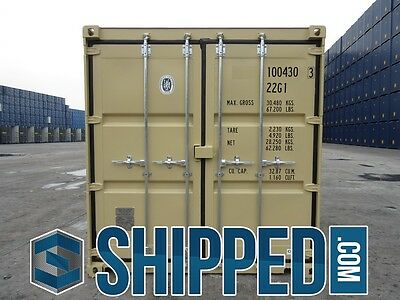 TUNNEL SHIPPING CONTAINER 20' DOUBLE DOORS SECURE STORAGE in Minneapolis, MN 7