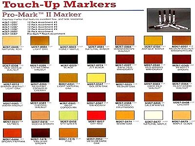 4 Of 5 Mohawk Pro Mark Ii Marker M267 Various Colors