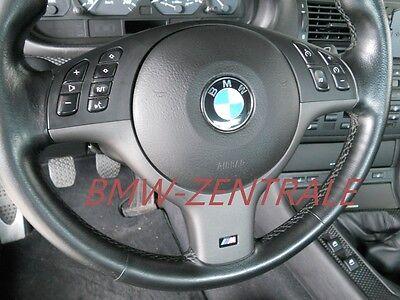 Umbausatz Tempomat MFL BMW E46 Sportlenkrad NEU orig