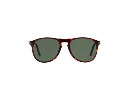 Occhiali da Sole PERSOL PO0649 havana cristallo verde 24//31