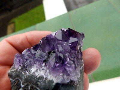 """Minerales """" Extraordinarios Cristales De Amatista De Uruguay  -  1L17 """" 3"""