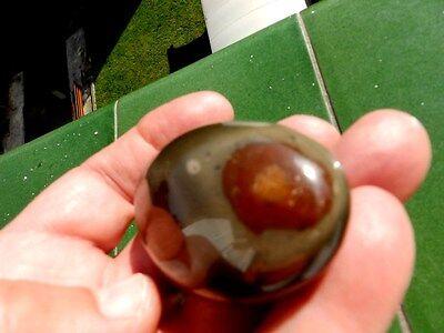 "Minerales "" Excelente Mineral De Jaspe Pulido De Madagascar  -  10A16 "". 5"