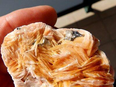 """Minerales """" Bonitos Cristales De Barita+Galena+Cerusita De Marruecos  -  6F16 """" 3"""