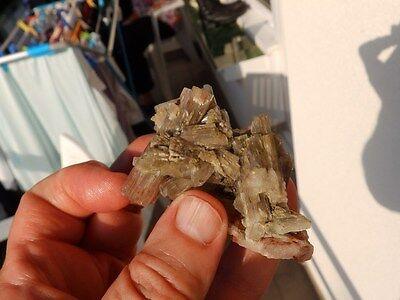 """Minerales """" Fabulosos Cristales De Aragonito De Minglanilla (Cuenca) -  9C16 """" 4"""