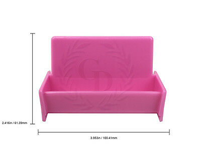 Hot pink acrylic business card holder display stand for office desk 1 of 5free shipping hot pink acrylic business card holder display stand for office deskcountertop colourmoves