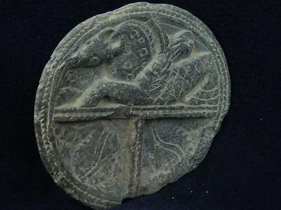 Ancient Stone Cosmatic Tray Gandhara/Gandharan 100 AD #STN834 3