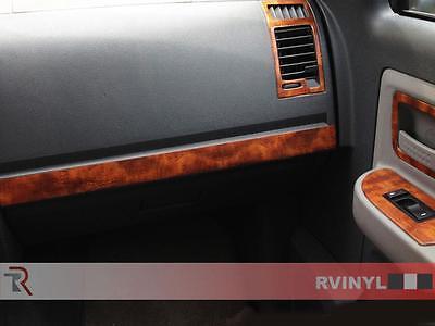 Rdash Wood Grain Dash Kit for Nissan Altima 2002-2004 Honey Burlwood