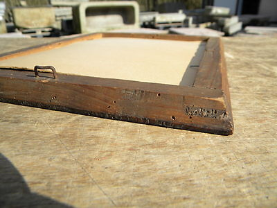 1810-30 furnierter 33,3x25,5cm BIEDERMEIER RAHMEN Furnierstärke 3mm BILDERRAHMEN 6