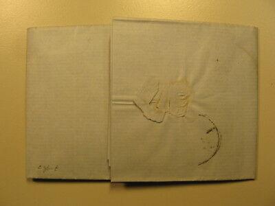 1854 Emil Engels [Bruder v. Friedrich ] Brief a Charlotte E.geb. Bredt Autograph 2