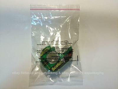 400 Pcs 11x14 (PE) Clear Poly Bags 1.6mil Self-seal with Suffocation Warning 2