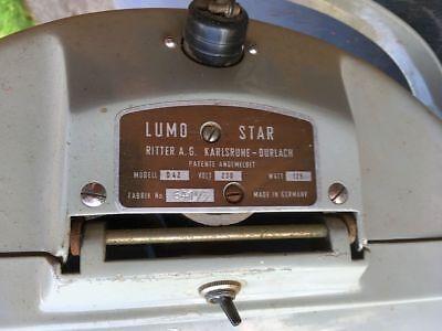 Ritter A.G. Lumo Star Zahnarzt Behandlungslampe | OP-Lampe | Vintage 3