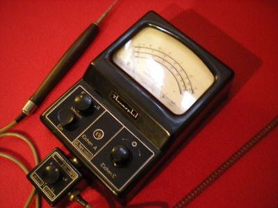 Ultrakust Thermometer Type 4410 Thermophil Antiguo termometro vintage baquelita 3