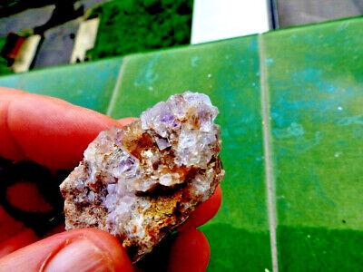 "Minerales "" Bonitos Cristales Cubicos De Fluorita De Berbes(Asturias)  - 1F18 "" 4"
