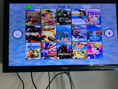 CONSOLE NINTENDO Wii usb loader gx +140GIOCHI +ACCESSORI Just Dance 2020 Mario 10