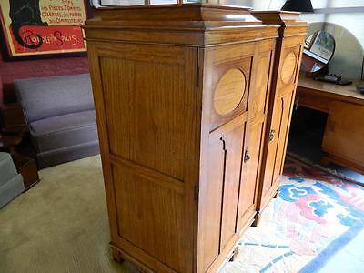Superb Gentlemen's Satinwood Compactum/wardrobe C1920.the Best I Have Seen! 6