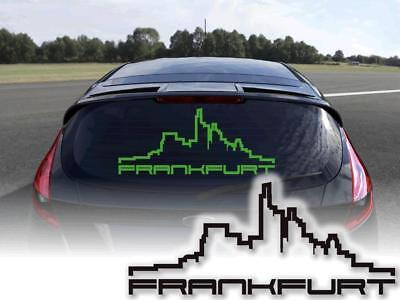 Aufkleber Frankfurt Skyline Autosticker 15cm Oem Jdm Decals