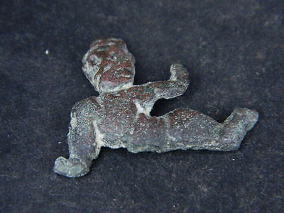 Ancient Bronze Figure Roman 200 BC No Reserve  #GL1624 7